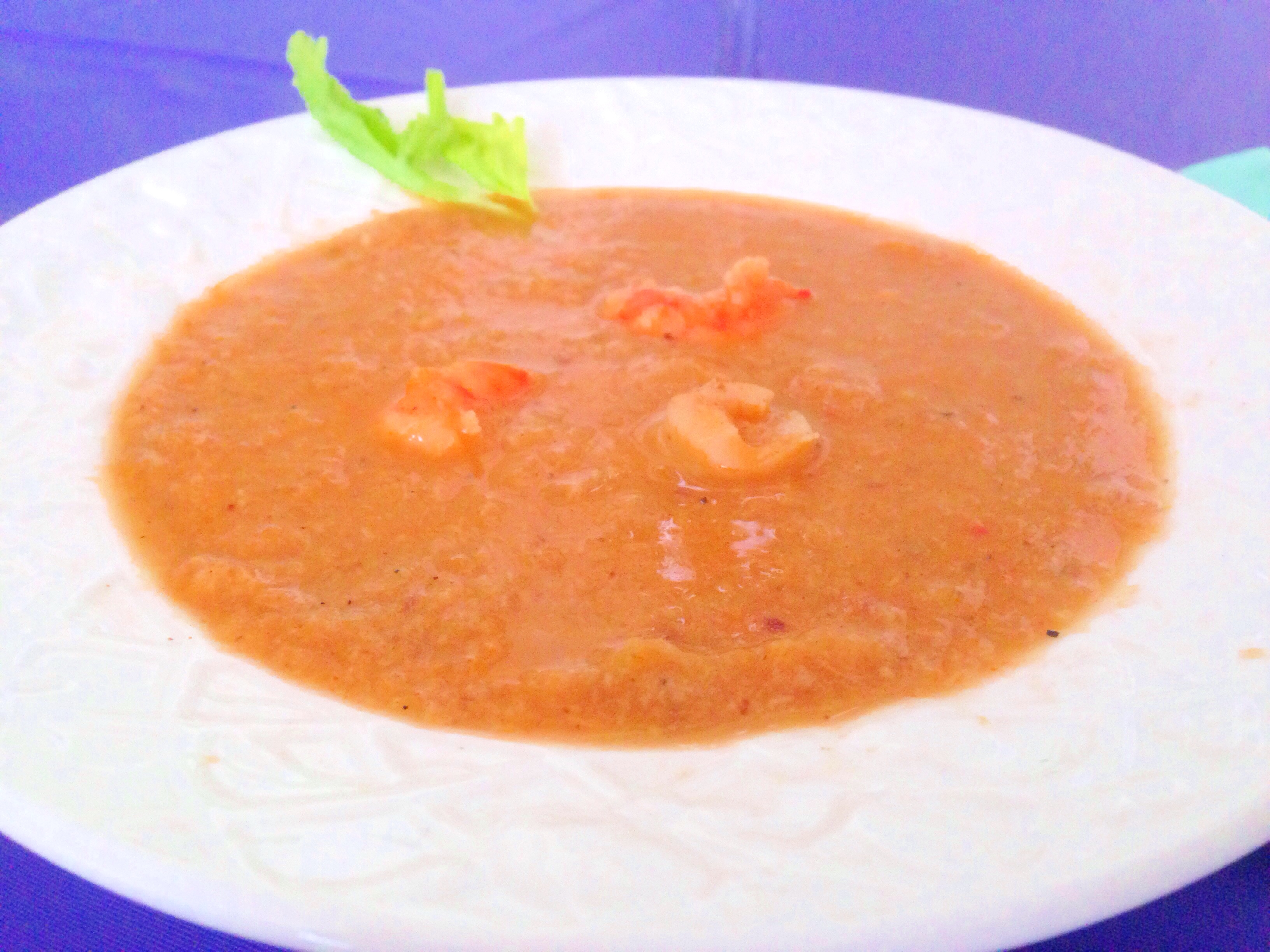 low fat seafood bisque