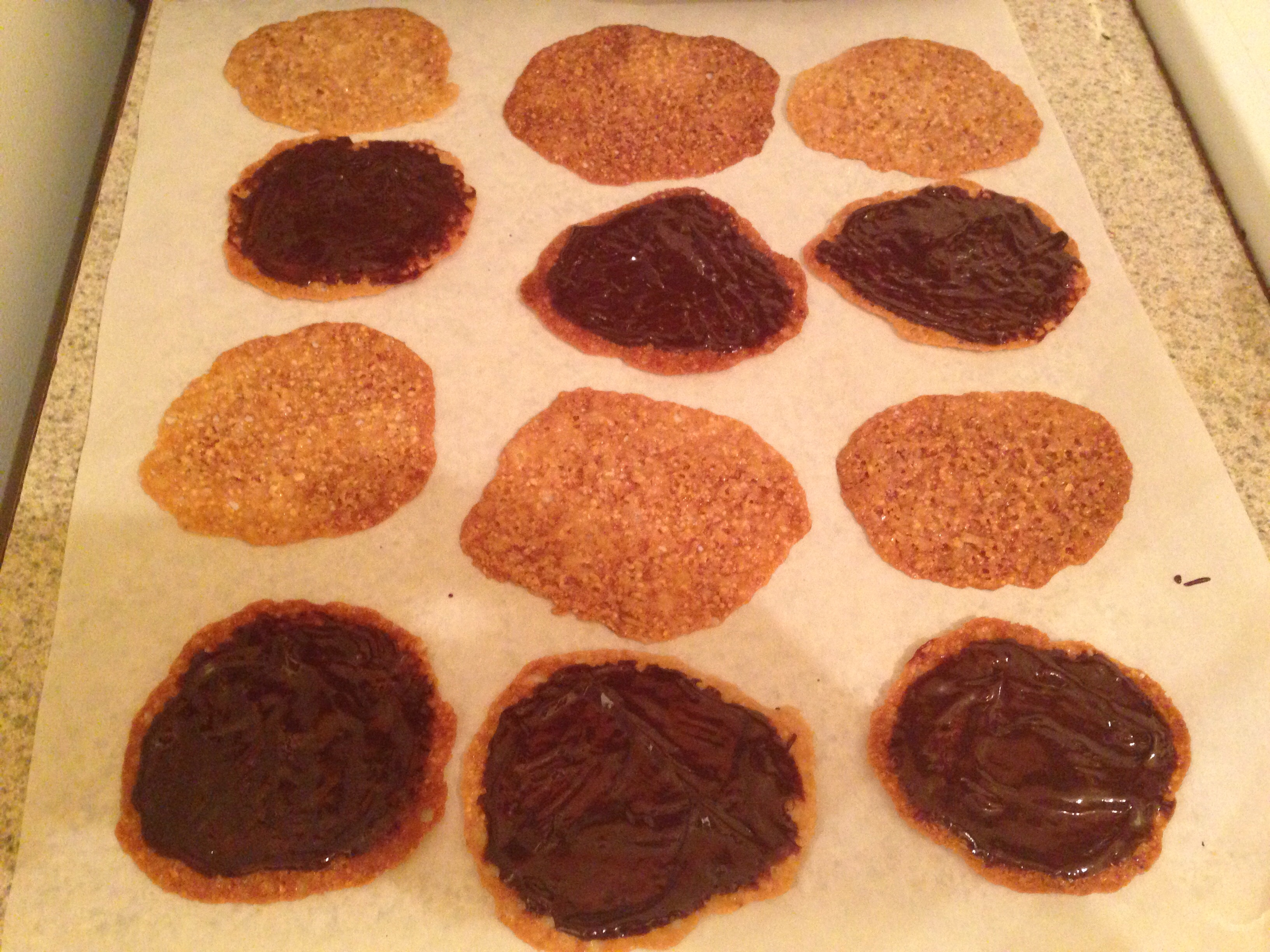 Gluten-Free Lace Florentine Cookies
